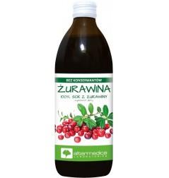 SOK Z ŻURAWINY 500ML