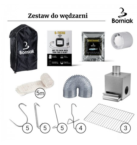 ZESTAW DO WĘDZARNI BORNIAK ZS-70