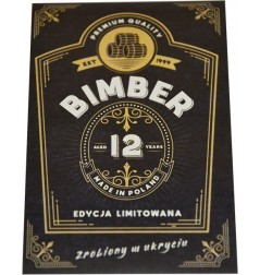 ETYKIETA BIMBER