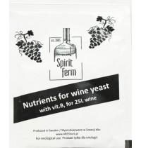 POŻYWKA NUTRIENTS 10g DLA DROŻDŻY WINIARSKICH