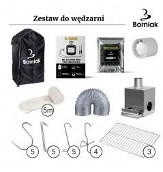 ZESTAW DO WĘDZARNI NIERDZEWNEJ BORNIAK ZSS-150
