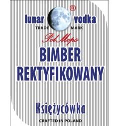 """ETYKIETA """"BIMBER REKTYFIKOWANY"""""""