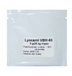 KULTURY BAKTERII LYOCARNI VBM-60 na 25kg